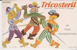 Buvard Tricostéril Les Trois Mousquetaires - Blotters
