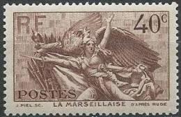 FRANCE - 40 C. Marseillaise De Rude  Neuf - Neufs