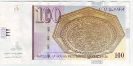 F.Y.R.O.Macedonia 100 Dinars 2007 - Macedonia