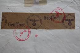 13/10/1940 IIIéme Reich Deutschland Deutsche Zensurbf Geöffnet Censure Allemande Pendorf > Molenbeek Bruxelles Belgique - Briefe U. Dokumente
