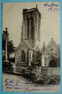 CPA 29 HUELGOAT - Eglise Saint Herbot - Edition Andrieu 46 Précurseur - Huelgoat