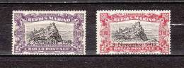SAN MARINO-1918--Sc# B16-B17-  MINT  NH VF-$38.00-SALE $ 5.90 - Nuovi