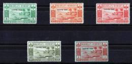 NOUVELLES HEBRIDES 1939 CHIFFRE TAXE N° 11/15 NEUFS * COTE 80 EUROS - Zonder Classificatie
