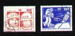 DDR 1965 Mi 1098-1099 CTO VF - Space