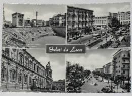 LECCE - Saluti Da Lecce - 1963 - Quattro Vedute - Lecce