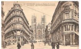BRUXELLES RUE ET EGLISE SAINTE GUDULE - Bruselas (Ciudad)