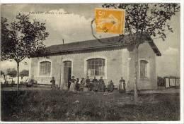 Carte Postale Ancienne Vauvert - Le Lavoir - Métiers, Laveuses, Lavandières - Frankrijk