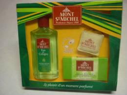 Boite Eau De Cologne Non Ouverte MONT ST MICHEL Avec Savon Assorti - Parfum (neuf Sous Emballage)
