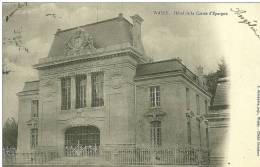 52 CPA Wassy Hotel De La Caisse D Epargne - Wassy