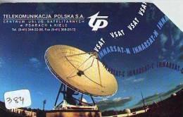 Télécarte  SATELLITE (384) ESPACE * TERRESTRE * MAPPEMONDE * Telefonkarte Phonecard * GLOBE * - Espace