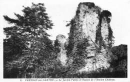 FRESNAY-sur-SARTHE - Le  Jardin Public Et Ruines De L'Ancien Château (8) - Otros Municipios