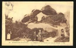 BRIGNOGAN - La Grotte Et La Vierge De Castel Houet - Brignogan-Plage