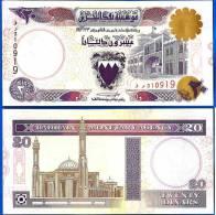 Bahrain 20 Dinars 1993 NEUF UNC NO AUTHORISED Bahrein Skrill Paypal OK - Bahreïn