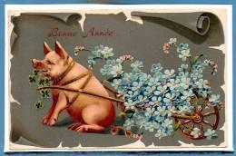 FANTAISIE --  Cochons - Gaufré - Varkens