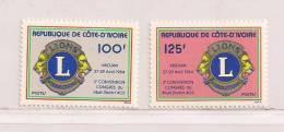 COTE D'IVOIRE  ( CDIV - 106 )  1984   N° YVERT ET TELLIER N° 683/684   N** - Côte D'Ivoire (1960-...)