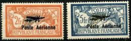 France PA (1927) N  1 à 2 * (Charniere) - Poste Aérienne
