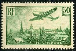 France PA (1936) N 14 * (charniere) - Poste Aérienne