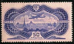 France PA (1936) N 15 * (charniere) - Poste Aérienne