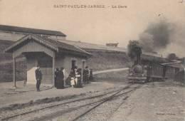 SAINT-PAUL-EN-JARREZ. La Gare - Non Classés