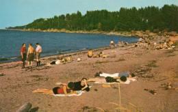 32983   Canada,     Metis Beach  -  Quebec  -  Our  Nice  Sandy  Beach,  NV - Quebec
