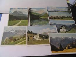 EL - 7 CARTES DU TYROL... - Cartes Postales