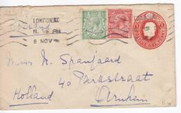 Great Britain 1916 Postal Stationery - 1902-1951 (Kings)