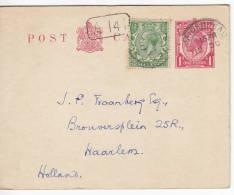 Great Britain 1922 Postcard - 1902-1951 (Kings)