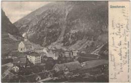 Suisse - Uri - Goeschenen - UR Uri