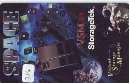Télécarte Japon ESPACE * Phonecard JAPAN * SPACE SHUTTLE (216) * Rocket * LAUNCHING * SPACE WORLD * Rakete * - Space