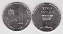 Israel 1 Shequel 1.981/85 Cu Ni KM#111 SC/UNC         T-DL-10.312 - 1 Penny & 1 New Penny