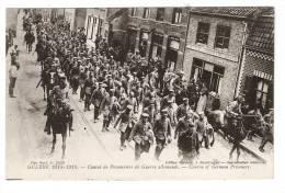 CPA : Belgique : Flandre Occidentale : Rousbrugge (? ) : Convoi Prisonniers Allemands - Weltkrieg 1914-18