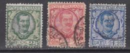 Italien-Italiane 1926 / Mi: 240-42 / I 114. - 1900-44 Victor Emmanuel III