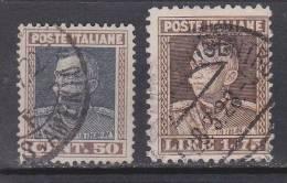 Italien-Italiane 1927 / Mi: 263,64 / I 116 - 1900-44 Victor Emmanuel III