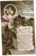 CPA Carte Voeux, Bonne Année 1914 (pk6134) - New Year