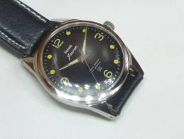 HMT Jawan Militaire Montre Mécanique 17r. HMT0012 - Watches: Old