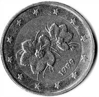 2 EURO FINLANDE COURANTE 1999 - Finlande
