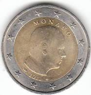 2 EURO MONACO  PRINCE ALBERT 2011 - Monaco