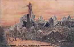 Clearing The Way Through Contalmaison - War 1914-18
