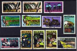 Nigeria - 1973 - Definitives (Part Set, Photo Printing) - Used - Nigeria (1961-...)