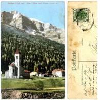 Sulden, Hotel Eller Mit Ortler, Südtirol, Alpen, Ostalpen,24.12.1907, Amonn M 7482 - Trento