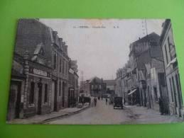 76-  Criel Grande Rue -assez Rare - Criel Sur Mer