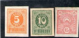 ESTONIE 1919 * - Estonia