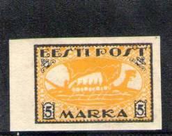ESTONIE 1919 * - Estonie