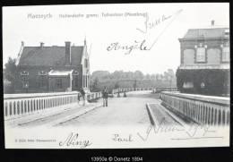 13950g HOLLANDSCHE GRENS - Tolkantoor Maasbrug - Maeseyck - 1907 - Maaseik