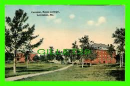 LEWISTON, MAINE - CAMPUS, BATES COLLEGE - - Lewiston