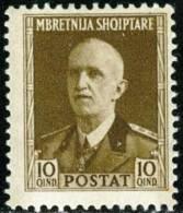 ITALIA, ITALY, ITALIEN, OCCUPAZIONE ITALIANA ALBANIA, 1939, FRANCOBOLLO NUOVO (MLH*), Scott 314 - Albania