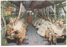 2846-PARACADUTISTI-PARA' IN ATTESA DEL LANCIO-FG - Paracadutismo