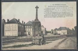 - CPA 08 - Le Chesne, Ancienne Croix Et Avenue De La Gare - Le Chesne