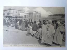 ORAN  (Algérie)  : Fête Arabe Sur Le  Boulevard Du Sud    (Belle Animation) - Oran