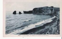 LE CAP D'AGDE  AGDE LA CONQUE ET LES ROCHERS DES DEUX FRERES 1937 - Agde